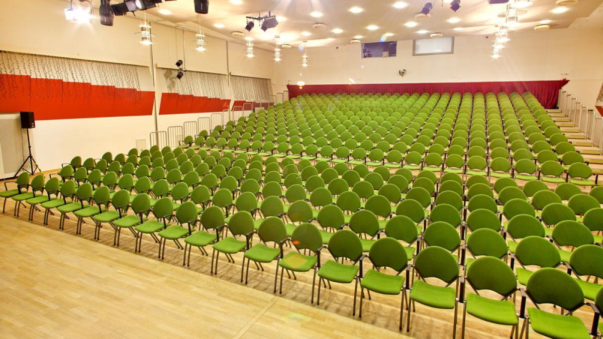 Saalplan Bürgersaal Reihenbestuhlung