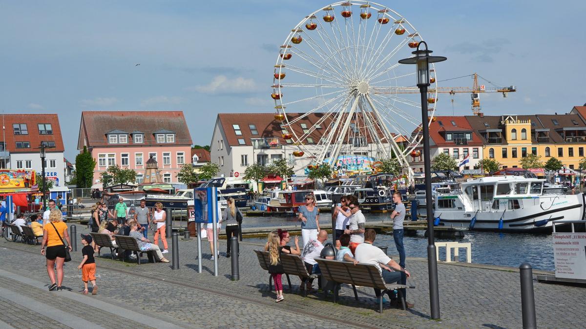 Müritz Sail - Stadthafen Waren (Müritz)