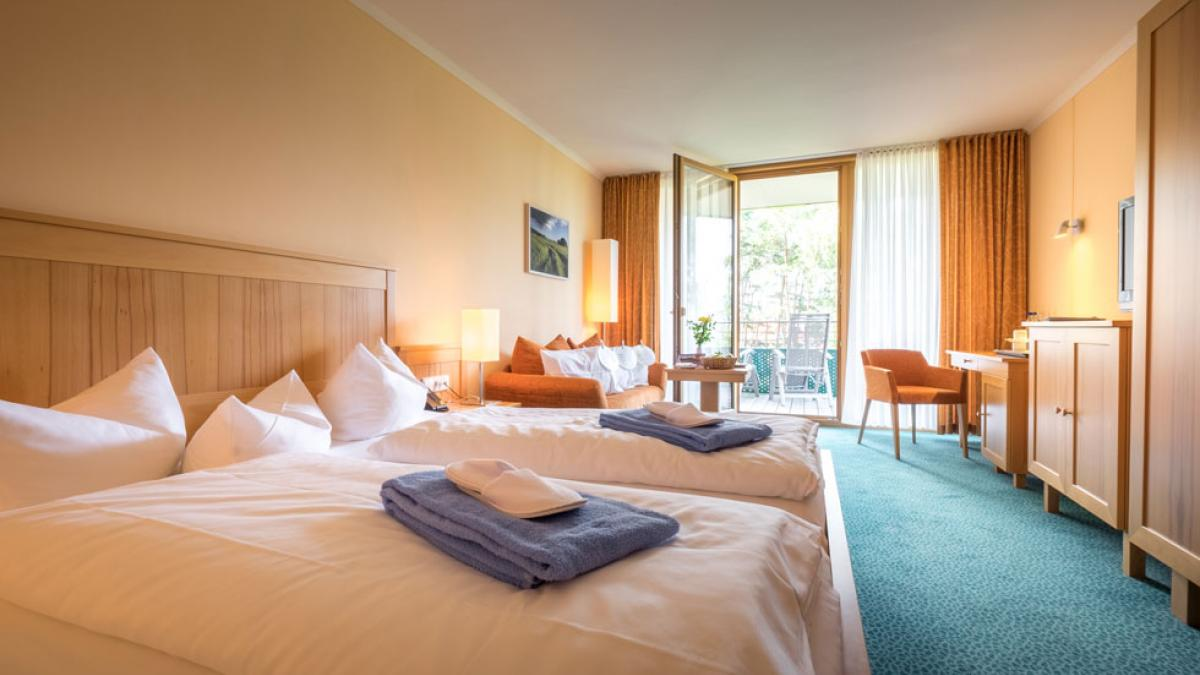 Hotelzimmer - Kurzentrum Waren (Müritz)