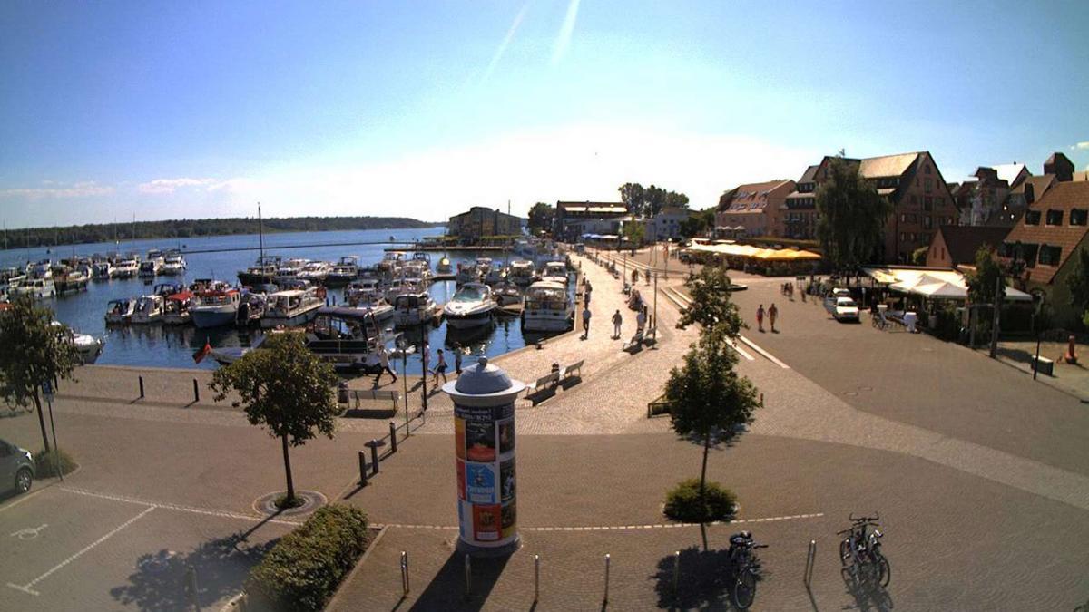 Litfaßsäule Hafen