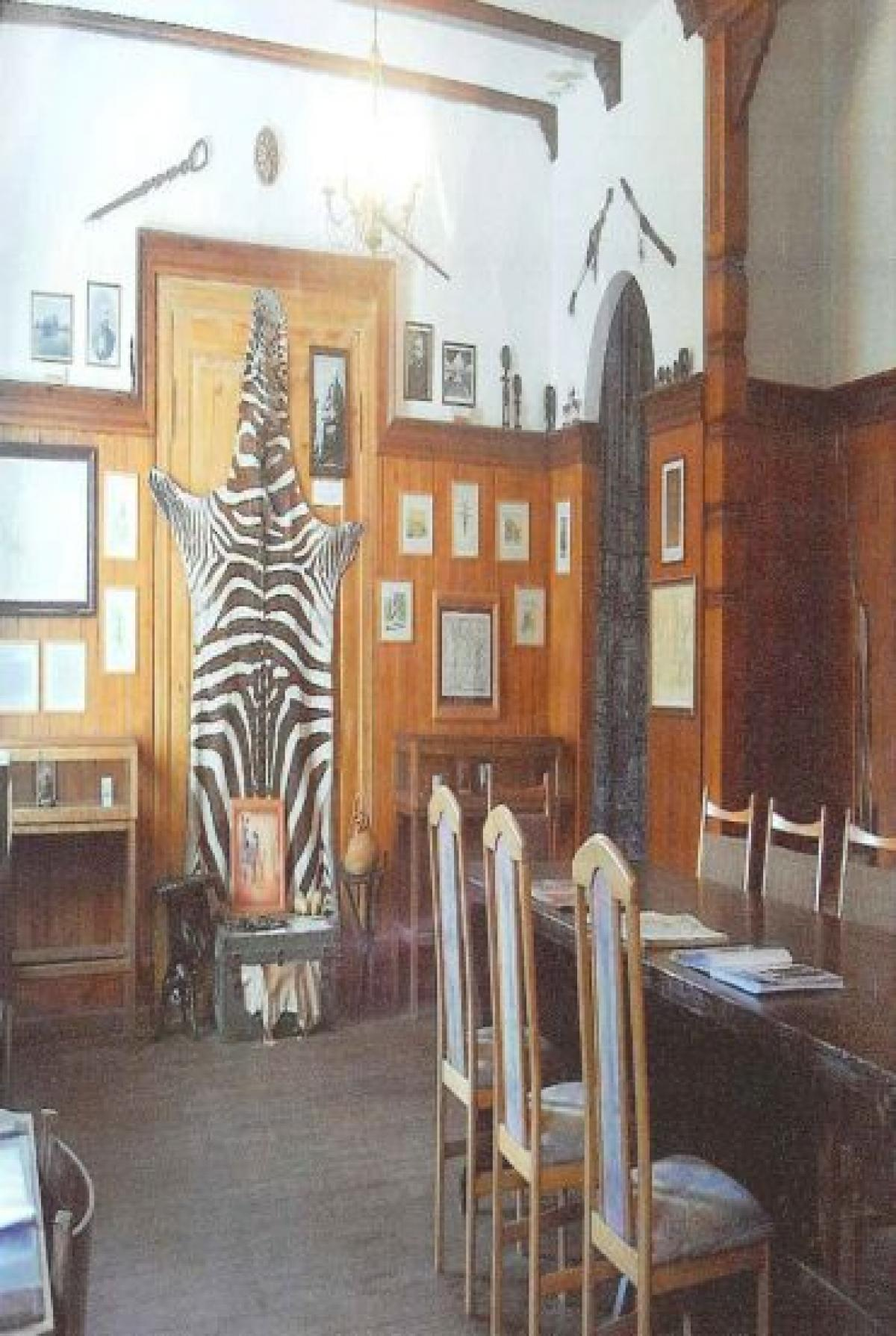 Ausstellungsraum der Paul Pogge-Gedenkstätte
