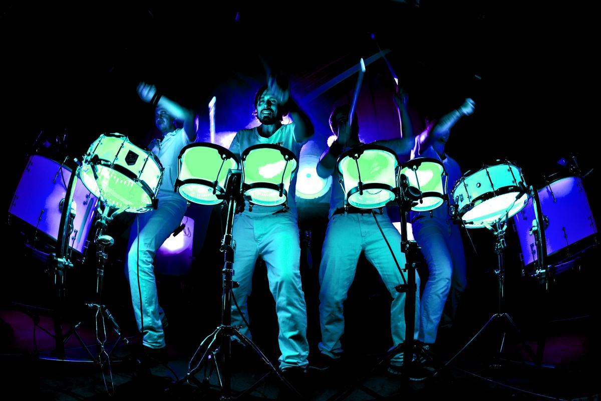 """Die """"Drum-Stars"""""""