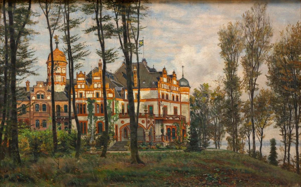 Carl Malchin (1838 - 1923), Schloss Wiligrad