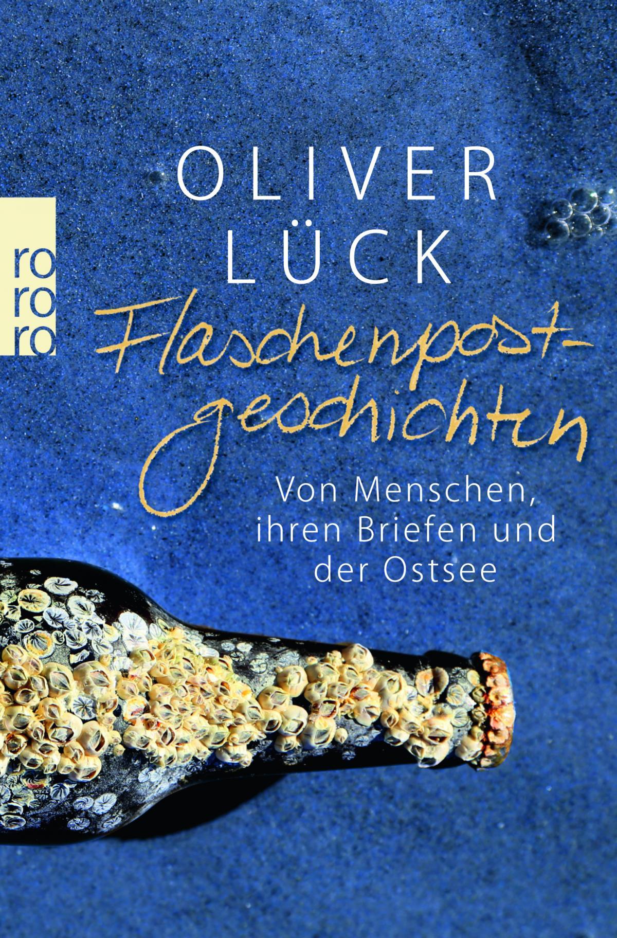Oliver Lück Flaschenpostgeschichten COVER  © Rowohlt Verlag